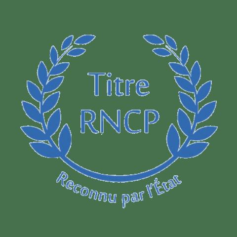 logo titre RNCP secrétaire médicale lyon