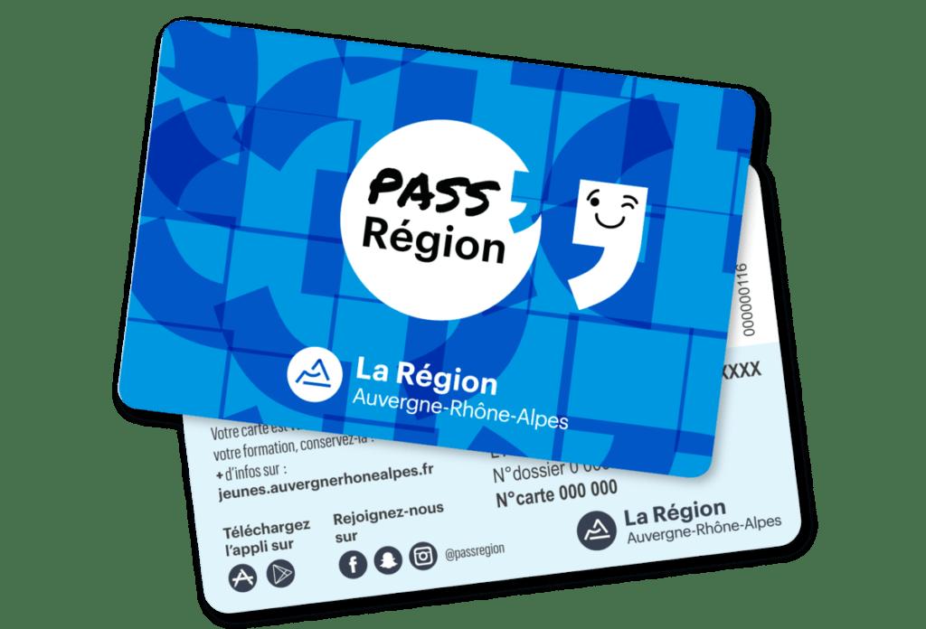 carte pass'région AURA